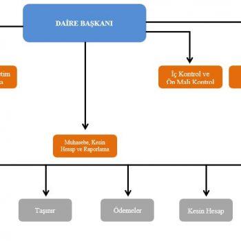 OŞ-010- Strateji Geliştirme Daire Başkanlığı Organizasyon Şeması